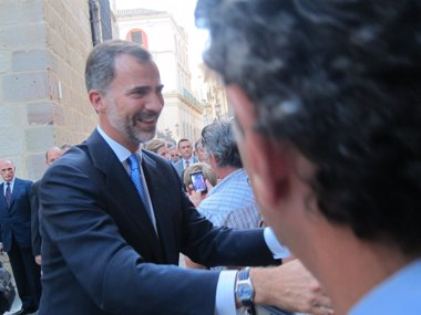 Foto: Imbroda pide al Rey Felipe VI visitar Melilla (EUROPA PRESS)
