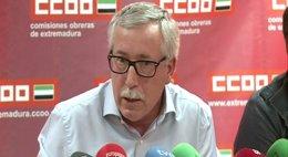 Foto: Toxo dice que la salida de la recesión debe llevar aparejada la recuperación del empleo (EUROPA PRESS)