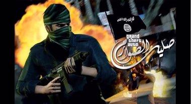Foto: Estado Islámico crea un videojuego basado en el popular GTA donde promociona sus acciones asesinando a policías de EEUU (INTERNET)
