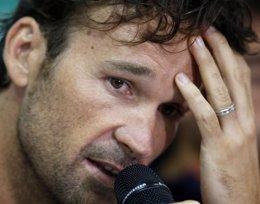 Foto: Moyá no continuará como capitán de Copa Davis (PAULO WHITAKER / REUTERS)