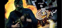 Foto: Simpatizantes del Estado Islámico usan el videojuego GTA para recrear atentados contra policías de EEUU (INTERNET)