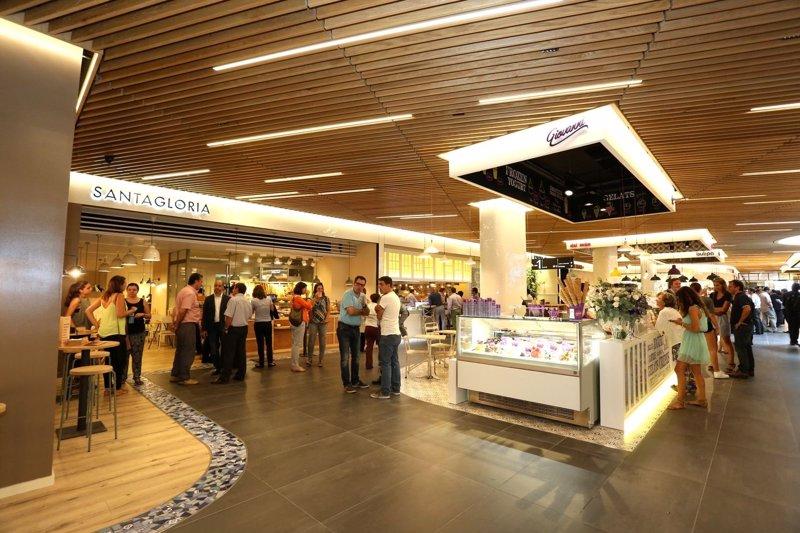 Comunicado 39 el mercat de gl ries 39 abre sus puertas con for El mercat de les glories