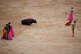 """Foto: Sánchez nun va prohibir los toros anque ta escontra del maltratu animal """"en toles fiestes populares"""" (PABLO BLAZQUEZ DOMINGUEZ)"""