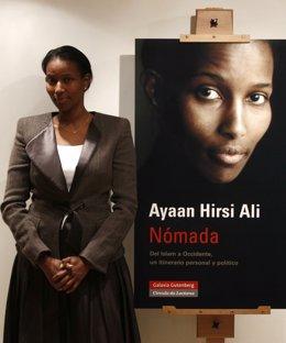 Foto: La somalí Ayaan Hirsi, candidata al premio Sajarov (EUROPA PRESS)