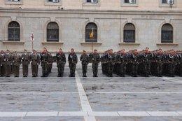 Foto: Un informe del Ejército aconseja forzar la salida de soldados y reducir la permanencia para rejuvenecer la tropa (EUROPA PRESS)