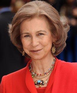 Reina Sofía aficionada arqueología, amuletos ojos de nazar turco griego ovnis