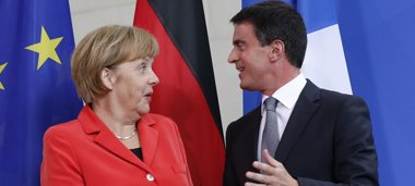 """Foto: Merkel asegura estar """"impresionada"""" por el """"ambicioso"""" programa de reformas de Francia (REUTERS)"""