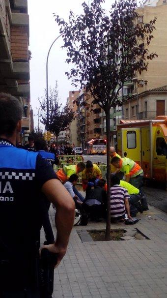 Siguen buscando al agresor que apuñaló a cinco personas en Lleida el lunes