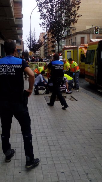 Los apuñalamientos de Lleida dejan tres heridos graves y dos menos graves