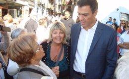 """Foto: Pedro Sánchez pide """"humildad"""" a Cospedal tras sus críticas por el apoyo socialista a la ley de consultas (EUROPA PRESS)"""