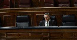 Foto: Gallardón empezó la legislatura como ministro mejor valorado y se va el penúltimo, según el CIS (EUROPA PRESS)