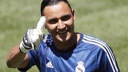 """Foto: Keylor Navas: """"Salgo contento porque el equipo ganó"""" (SERGIO PEREZ / REUTERS)"""