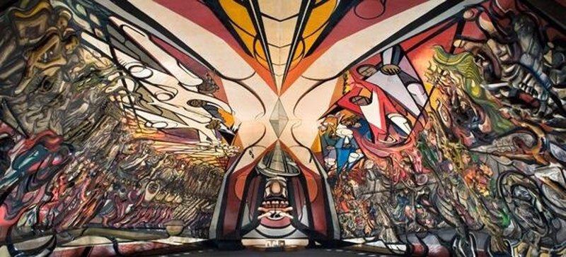 Cinco obras imprescindibles del muralismo mexicano for El mural de siqueiros