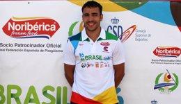 Foto: Tono Campos, campeón del mundo de maratón en C1 (RFEP)