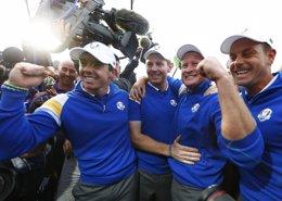 Foto: La Ryder Cup sigue siendo de Europa (EDDIE KEOGH / REUTERS)
