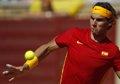 Foto: Nadal regresa a la competición oficial con una derrota en dobles en Pekin (REUTERS)