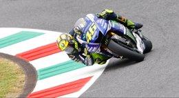 """Foto: Rossi: """"Estoy bien, al cien por cien, no estoy lesionado"""" (MOTOGP)"""