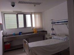 Foto: Reservan habitaciones del Hospital de Ceuta ante posibles enfermos de ébola (EUROPA PRESS/INGESA)