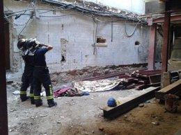 Foto: Muere un trabajador en las obras de un edificio en el Barrio de Salamanca (EMERGENCIAS MADRID)