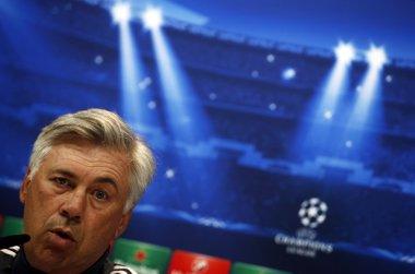 """Foto: Ancelotti: """"No estoy pensando en una rotación programada"""" (SERGIO PEREZ / REUTERS)"""