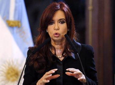 "Foto: Fernández llama a Griesa ""senil"" y acusa a EEUU de forzar el fallo (REUTERS)"