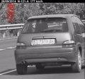 Foto: Imputado un conductor novel que conducía a 177 km/h en un tramo de la N-121-A limitado a 90 (EP/GOBIERNO DE NAVARRA)