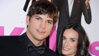 Demi Moore se ofrece ayudar a Kutcher y Mila Kunis con su hija