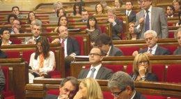 Foto: El PP catalán llevará a la Fiscalía el acuerdo del Parlament sobre la Comisión de Control (EUROPA PRESS)