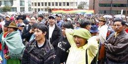Foto: Ecuador ofrece disculpas a una comunidad indígena por violar sus DDHH al autorizar una explotación petrolera (Reuters)
