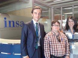 """Foto: Pablo Pineda, primer licenciado síndrome de Down, pide """"abrir los ojos a la discapacidad"""" (INSA)"""