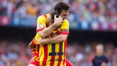 """Foto: Messi: """"No compito contra Cristiano ni contra nadie"""" (HTTP://WWW.FCBARCELONA.ES/)"""