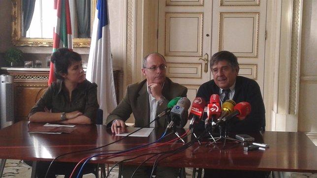 Izagirre y Carlos Slepoy