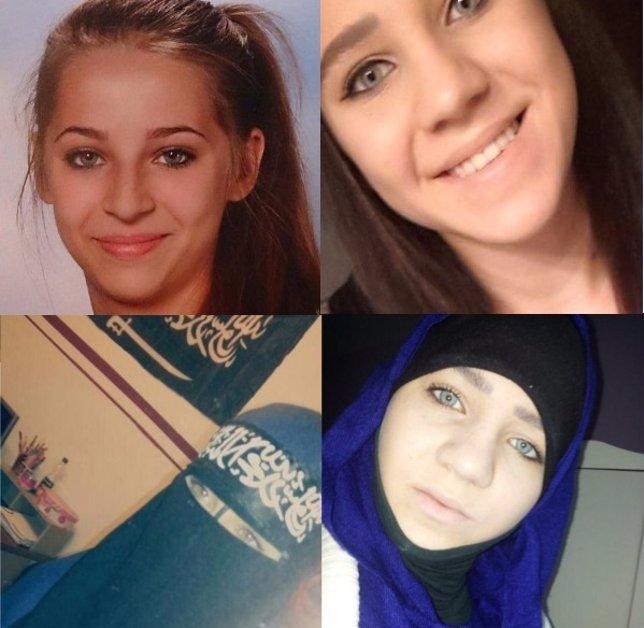 Samra Kesinovic y Sabina Selimovic, jovenes yihadistas en Siria