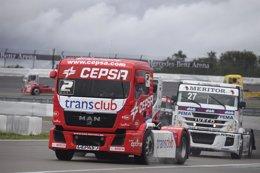Foto: Antonio Albacete finaliza tercero el Europeo de Camiones (CEPSA)