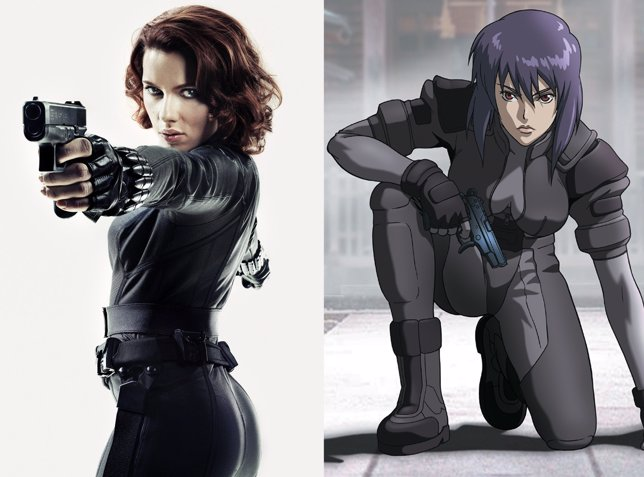 Scarlett johansson favorita para protagonizar ghost in the shell