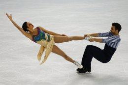Foto: Sara Hurtado y Adrià Díaz finalizan quintos en el Skate Canada Autumn Classic (MARKO DJURICA / REUTERS)