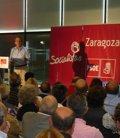 """Foto: Anadón (PSOE) apuesta por un programa """"realista"""" y """"con esperanza"""" (EUROPA PRESS)"""