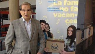 Mor el president d'honor del Banc dels Aliments de Barcelona, Antoni Sansalvadó