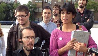 L'eurodiputada Teresa Rodríguez admet que els faria vertigen Podem sense Pablo Iglesias