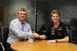 Foto: Hulkenberg renueva con Force India para la próxima temporada (FORCE INDIA)