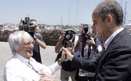 Foto: Anticorrupción pide al Consell facturas de los viajes de Camps a Londres para negociar con Ecclestone la F-1 (GVA)