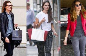 Foto: Las famosas, para el otoño, prefieren los pantalones (EUROPA PRESS)