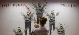 Foto: Banksy NO ha sido detenido, pese a un exitoso bulo en Twitter (REUTERS)