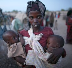 Foto: Un nen mor cada cinc minuts a causa de la violència (UNICEF)