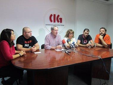 """Foto: Traballadores de Freiremar en Vigo piden """"claridade e rapidez"""" para recuperar os seus empregos tras a nulidade do ERE (EUROPA PRESS)"""