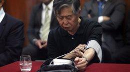 Foto: Fujimori vuelve a ingresar en una clínica de Lima por un nuevo problema en su lengua (REUTERS)