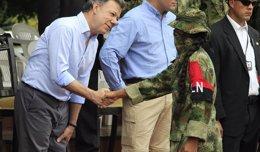 """Foto: El ELN secuestra y libera en menos de 24 horas a un diputado en un """"mensaje"""" a Santos para iniciar el diálogo (JAIME SALDARRIAGA / REUTERS)"""