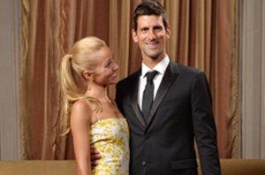 Foto: Novak Djokovic y su esposa dan la bienvenida a su primer hijo, Stefan (GETTY)