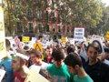 ESTUDIANTES MADRILENOS SE ECHAN A LA CALLE CONTRA LA LOMCE