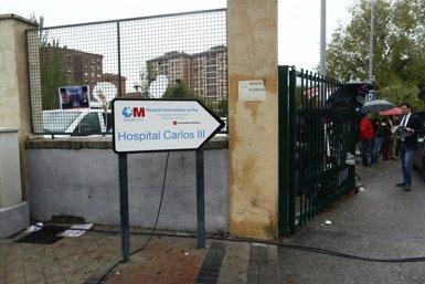 Foto: Romero romandrà en aïllament fins que s'elimini el risc d'Ebola en fluids (EUROPA PRESS)